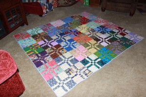 Erin's completed quilt #2