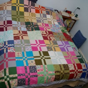 sandy quilt assembled by Becki