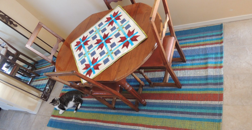 Table Topper and the Color Inspiration