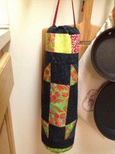 Tall Fly bag holder
