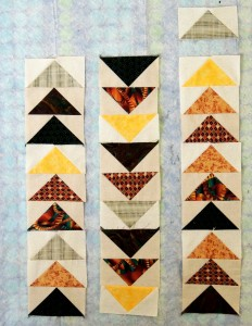 Sophie's Trio of Geese blocks