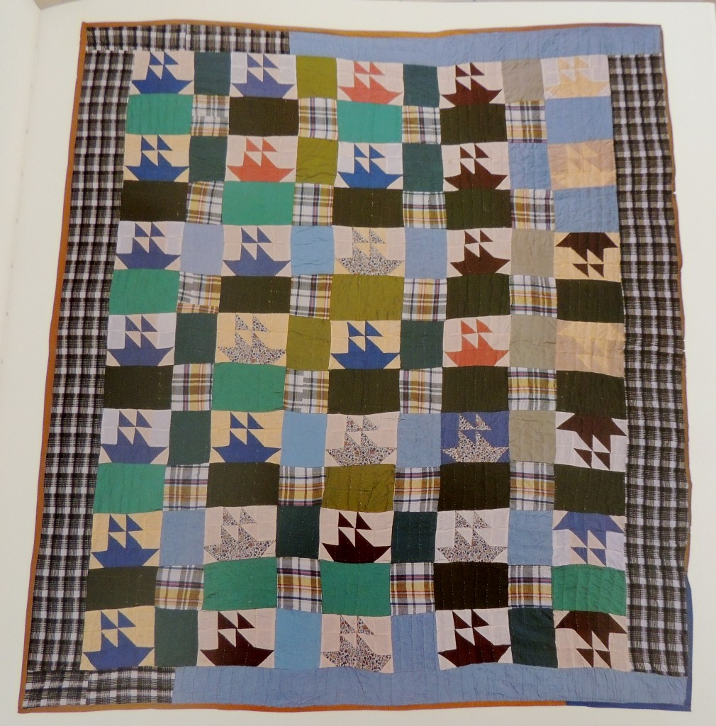 Sailboats quilt by Alean Pearson, Oxford Mississipi