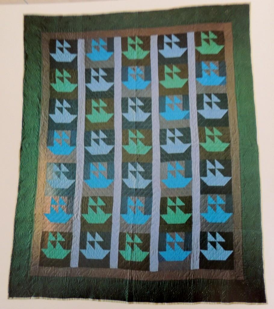 Sailboats Quilt by Amanda Lehman, Topeka Indiana