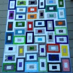 Step quilt finished