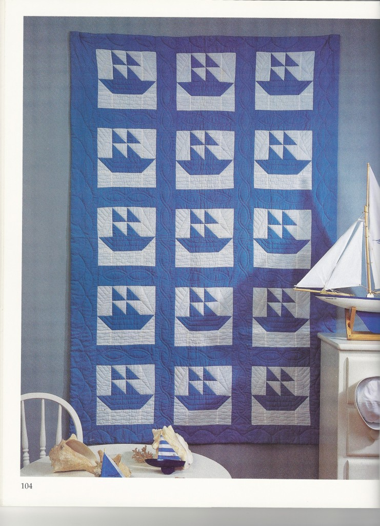 Sailboat Baby Quilt