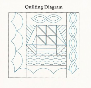 Sailboat Quilting Design