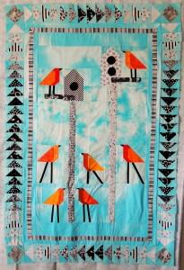 Tweet - A crib-sized quilt