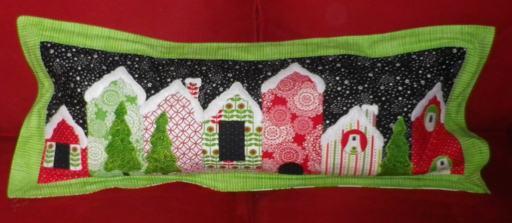 Sophie's Holiday Lane Pillow