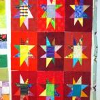 9 tall star blocks