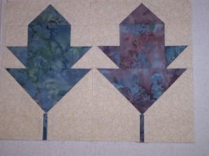 Lotto Blocks - leaves 004