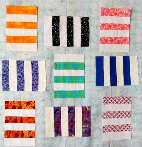 Sophie's Stripes Blocks