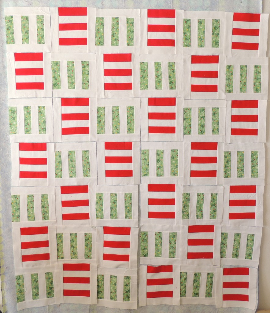Sophie's Holiday Stripes Blocks