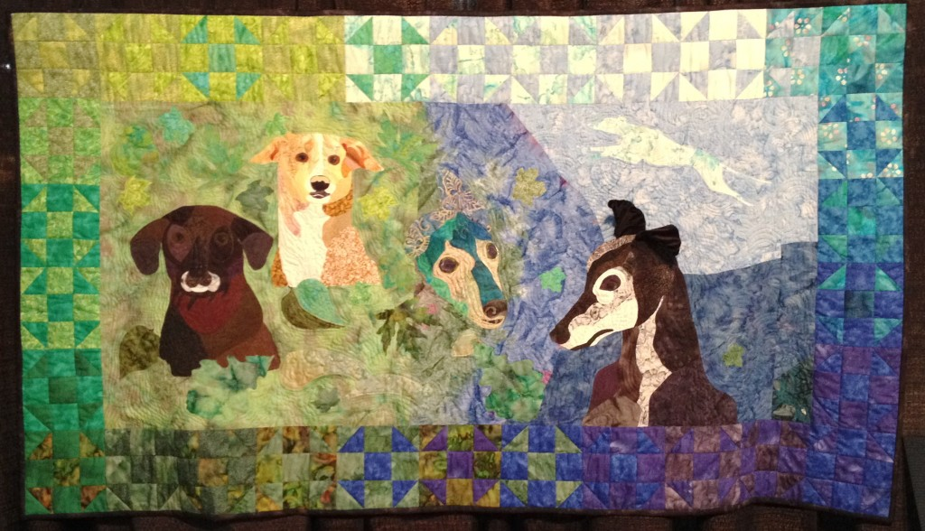 Jude's Quilt for It's Raining Cats and Dogs