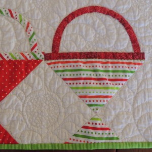 Basket Quilting Detail