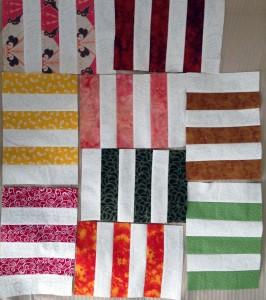 Hall stripe blocks