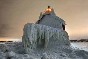 Frozen Lighthouse 2014