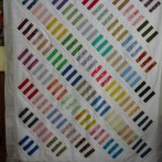 """Finished my Stripey """"Flimsy"""" Quilt Top"""