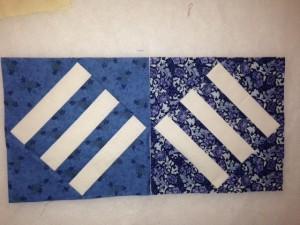 diagonal bars