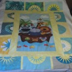 Baby Quilt with Sunshine Blocks