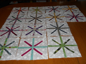 Spokes for Mod-Mod Quilt 001