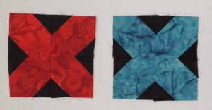 Sophie's 2 X-blocks