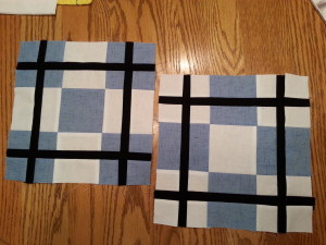 9 patch plaid Block 06