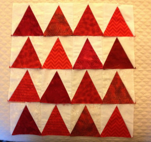 4Many triangles blocks