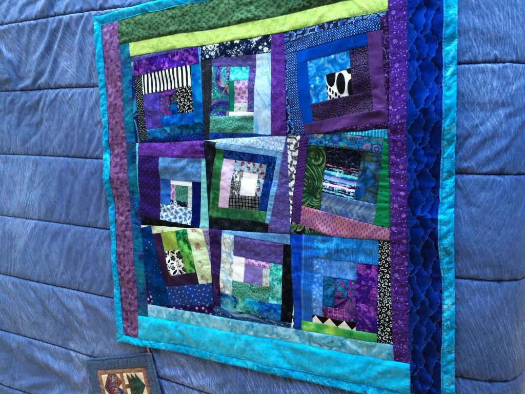BL 2010-03 Log Cabin w_ Attitude - Baby Quilt 1 JDodge