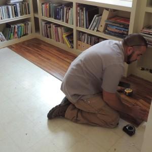 New Floor In Progress