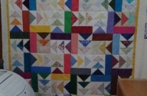 One quilt top completed