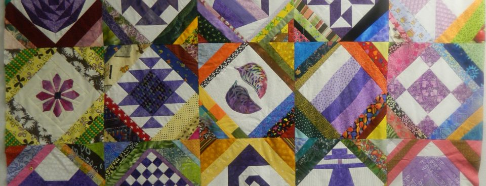 My 2016 block lotto challenge – from blocks to tops