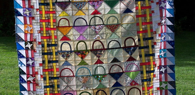 Basket Blocks- Now a Top!