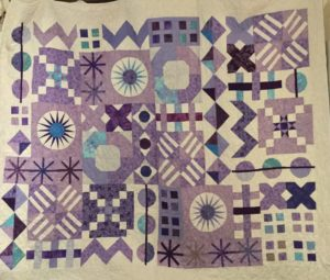Here is another Mod-Mod Quilt Along 2014 finish
