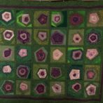 Log cabin roses quilt finally finished