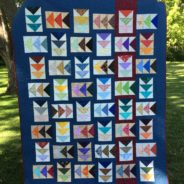 Flying geese quilt…