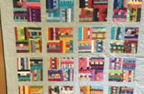 Finished quilt from December 2016 win