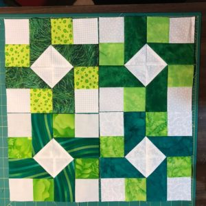4 Susannah blocks made by Linda Engebretson