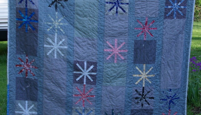 Another quilt from a 2014 block