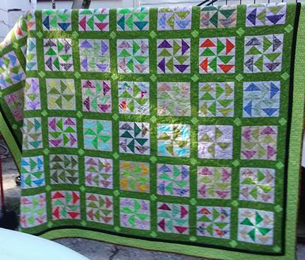 Dutchman's Puzzle Finish