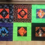 6 Fun Spooky Square blocks from Linda in Minnesota