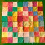 Four poppy blocks