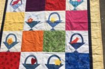 Baby Quilt from Basket Block Winnings