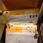 3 snail mails arrived from Barney, GA!