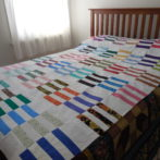 Some flimsey Stripes quilts