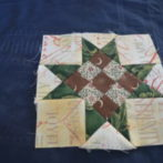 Nov. block entry, four 9 patch star