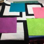 3 framed blocks-Pat K