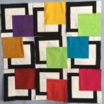 Nine Happy Birthday Blocks