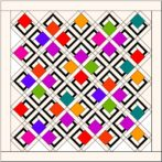 Quilt Layout Idea – Blocks on Point