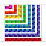 A Rainbow Scraps Idea