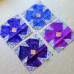 Four lovely violets received
